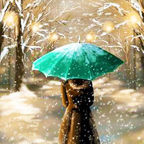Zöld esernyő