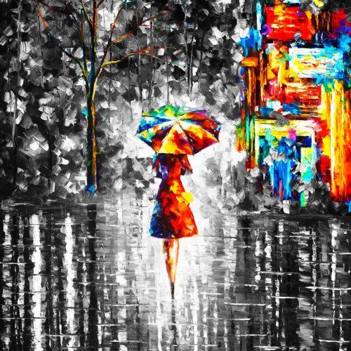 Leonid Afremov: Októberi eső