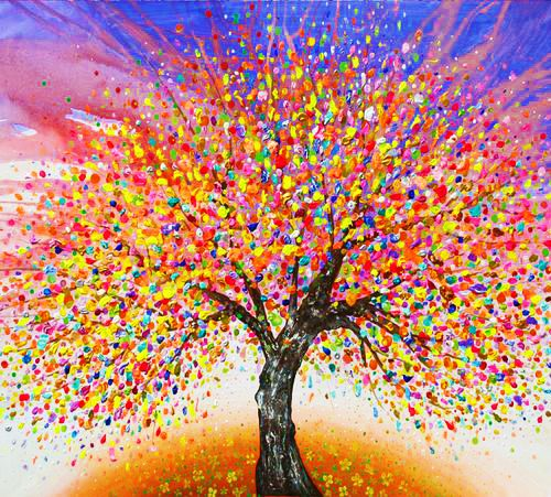 Pöttyözős fa